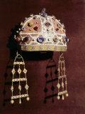Tiara in Gold and Precious Stones Belonging to Costanza II of Aragon 1154-98 Photographic Print