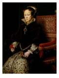 Queen Mary I Tudor of England or Bloody Mary, 1516-58 Giclee Print by Antonis Mor