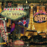 Las Vegas I Poster von John Clarke