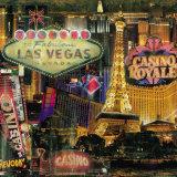 Las Vegas I Posters by John Clarke