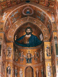 Mosaics on Apse including Christ Pantocrator, 12th century Photographic Print