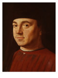 Portrait of a Young Man Giclee Print by Antonello da Messina