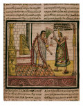 Coronation of Montezuma, 1466-1520 Last King of the Aztecs Giclee Print