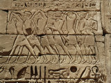 Philistines Captured by the Egyptians During Campaign by Ramesses III Photographic Print