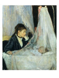 The Cradle, 1872 Giclee Print by Berthe Morisot