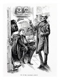 Pip at Mr Jaggers office, illustration from Great Expectations Giclee Print by Harry Furniss