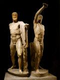 The Tyrannicides, Sculptural Group Depicting the Athenians, Harmodius and Aristogiton Reproduction photographique
