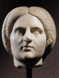 Woman, Marble Head, Roman, 193 - 211 AD Photographic Print