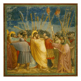 The Kiss of Judas Giclee Print by  Giotto
