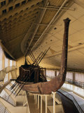 Solar Barque of Khufu (Cheops), 4th Dynasty (c. 2575-2450 BC) Old Kingdom Egyptian Pharaoh Photographic Print