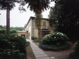 Giacomo Puccini Villa at Monsagrati Where he Composed the Opera Tosca Photographic Print