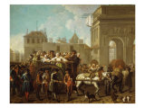 The Transport of the Harlots Giclee Print by Etienne Jeaurat