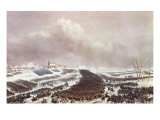 Battle of Eylau, 8 February 1807 Giclee Print by Jean Antoine Simeon Fort