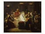 Banquo's Ghost from Macbeth, by William Shakespeare Giclee Print by Theodore Chasseriau