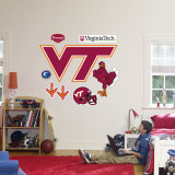 Virginia Tech Hokies Logo Wallstickers
