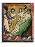 God Creating Eve from Adam's Rib, from Genesis, Creation of the World Giclee Print