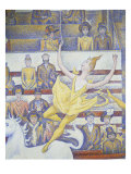 The Circus, 1891, Detail Giclee Print by Georges Seurat