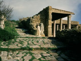 Roman Villas in the Odeon Quarter, Carthage, Tunisia Photographic Print