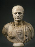 Roman Officer, Marble, 2nd century AD Roman, from Tomis, Romania Photographic Print