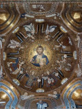 Christ Pantocrator and Angels, Palatine chapel, Palazzo Reale, Palermo, Sicily Photographic Print