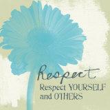 Respekt Poster von Linda Woods