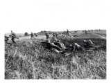 Troops from Dismounted German Cavalry Regiment Preparing for Counter-attack September 1918 Giclee Print
