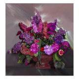 Colorful Bouquet of Flowers Giclee Print by Rich LaPenna