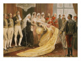 Victoria, 1819-1901 Queen of England, at 1887 Reception for her Jubilee Giclee Print