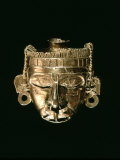 God Xipe Totec, Gold Mask, called Nuestro Senor el Desollado Photographic Print