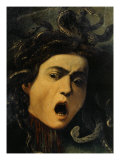 Medusa, Detail, 1598-9 Giclee Print by Caravaggio 