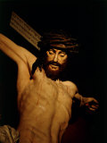The Merciful Christ, Detail of Head with Crown of Thorns Lámina fotográfica