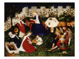 Paradise Garden, c. 1410 Giclee Print by Meister Oberrrheinischer