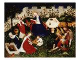 Paradise Garden, c. 1410 Giclee Print by Meister Oberrrheinischer