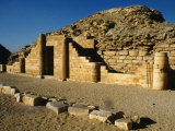 East Front of Funerary Complex of Pyramid of Pharaoh Djoser, or Zoser Photographic Print