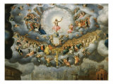 God the Father, from The Last Judgement, c. 1585 Giclee Print by Jean Cousin the Younger