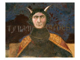 Allegory of Bad Government, Tyranny, Fresco (1338-40) Giclee Print by Ambrogio Lorenzetti