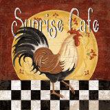 Sunrise Café Prints by Kathy Middlebrook