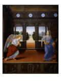 The Annunciation, early 1480s Giclee Print by Lorenzo di Credi