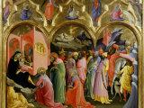Adoration of the Magi Fotografisk tryk af Lorenzo Monaco