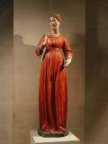 The Virgin Mary at the Annunciation Photographic Print by  Domenico Di Niccolo Dei Cori