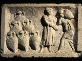 Cellar with Amphorae, Relief, 2nd-3rd century AD Roman Photographic Print