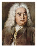 George Frideric Handel, 1685-1759 German composer Giclee Print