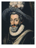 Henry IV, 1553-1610 Bourbon King of France and Navarre, 17th Century Giclee Print