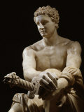 Achilles, Marble Sculpture Known as the Ludovisi Ares (c.4th century BC - 1st century BC) Reproduction photographique