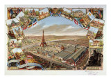 View of Exposition Universelle, Paris, France, 1889 Giclee Print