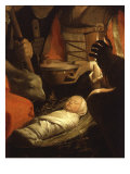 Infant Christ, from The Adoration of the Shepherds Giclee Print  by  Georges de La Tour