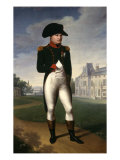 Napoleon Bonaparte, Emperor of France, at Malmaison, 1804 Giclee Print by Francois Gerard