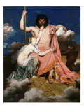Thetis Imploring Jupiter, 1811 Giclee Print by Jean-Auguste-Dominique Ingres