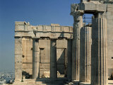 Propylaea (Gateway), North Wing, Acropolis, Athens, Greece Photographic Print