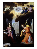 The Annunciation, 1638-39 Giclee Print by Francisco de Zurbaran
